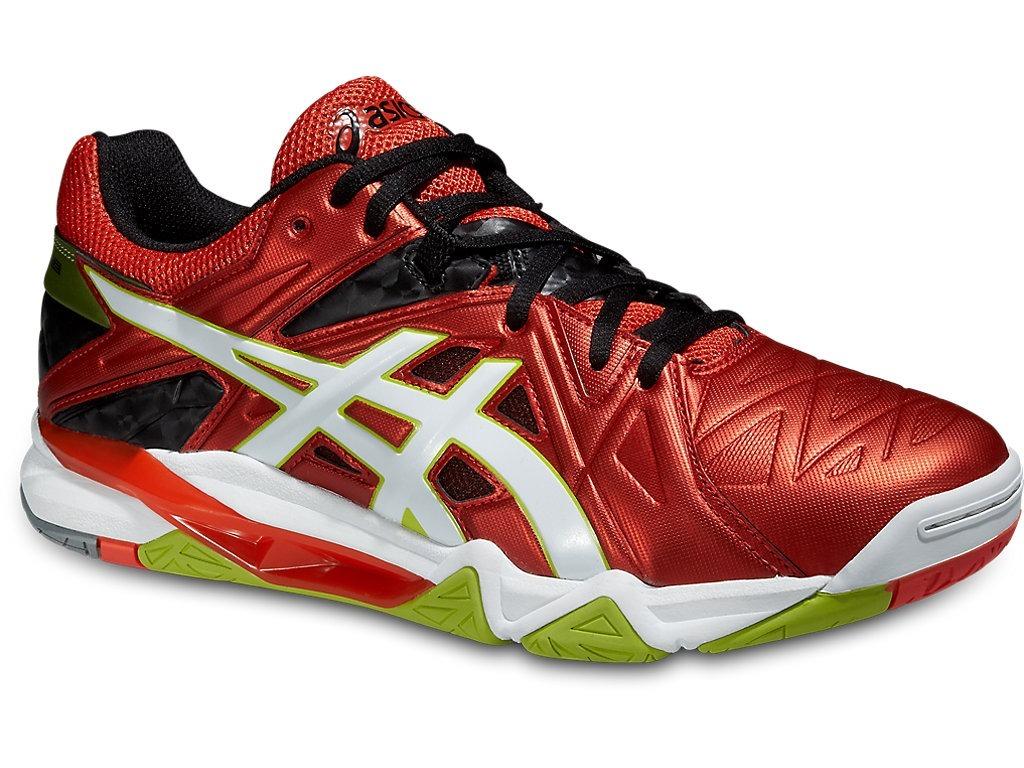 ASICS Voleibol rojo