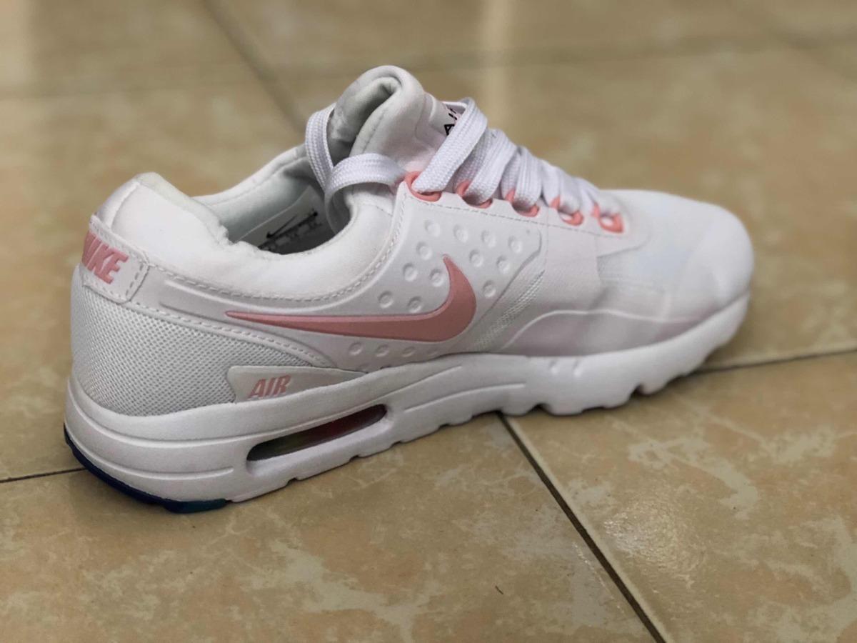 7697d1d2b0706 ... promo code for tenis authentic nike air max zero be true blanco paloma  rosa. cargando