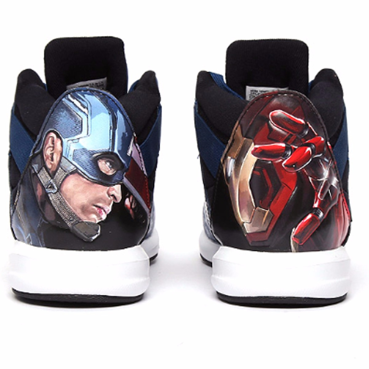 Tenis adidas Marvel Capitán América Vs Iron Man Niños