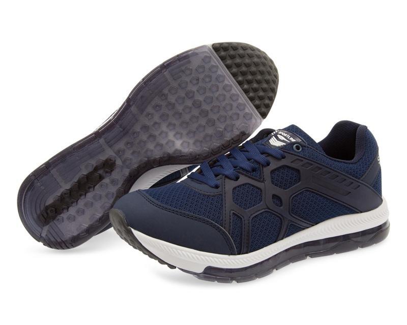 Tenis Azules Para Hombre Sportline Pr-8090292 -   399.00 en Mercado ... 8dc568f4214e1