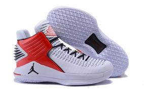 5a050b4e6db Tenis Jordan Preto E Vermelho Nike - Esportes e Fitness no Mercado Livre  Brasil