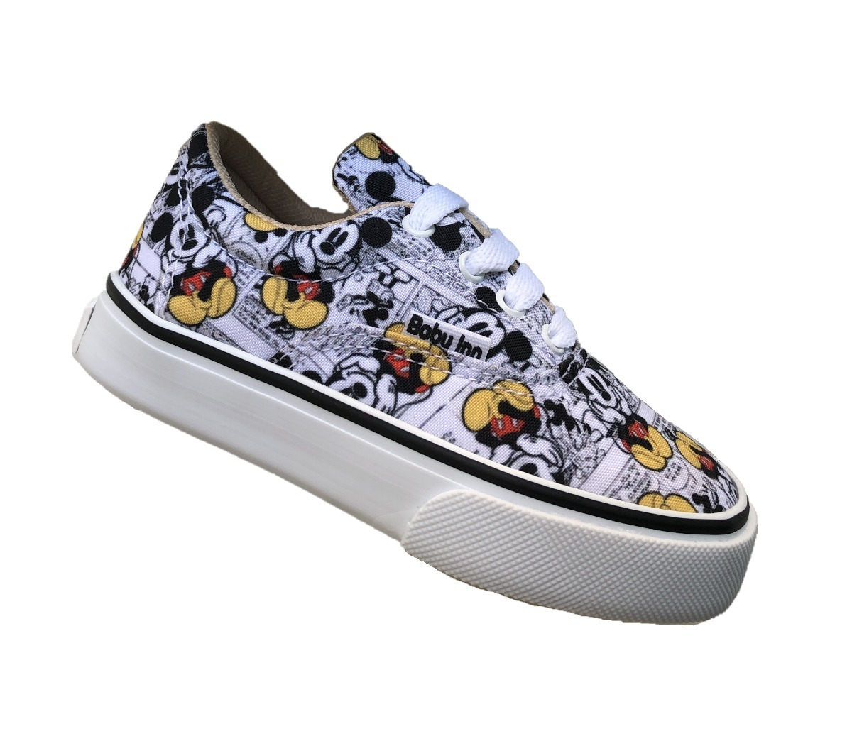 Tenis bebe niño mickey mouse estilo vans en mercado libre jpg 1200x1051  Micky mouse tennis acf400510c9