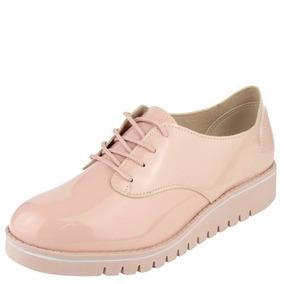 7d5dbcf47c Sapatos Sociais e Mocassins Oxfords Beira Rio para Feminino Rosa ...
