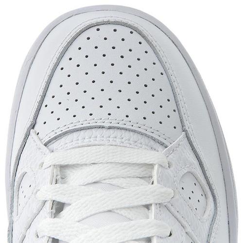 tenis blancos de bota  nike casual basquet médico escolar