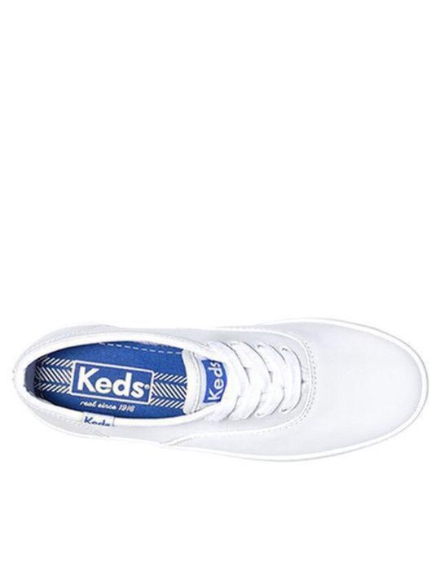6307700184 Tenis Blancos De Piel Marca Keds -   449.00 en Mercado Libre