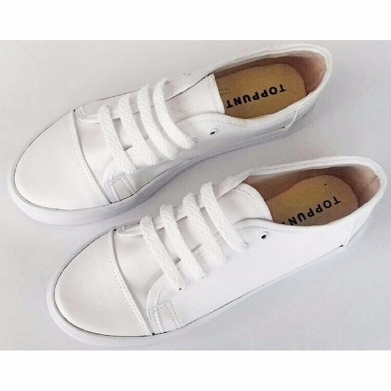 37f48aaf Tenis Blancos Mujer Zapatos Dama - $ 299.00 en Mercado Libre