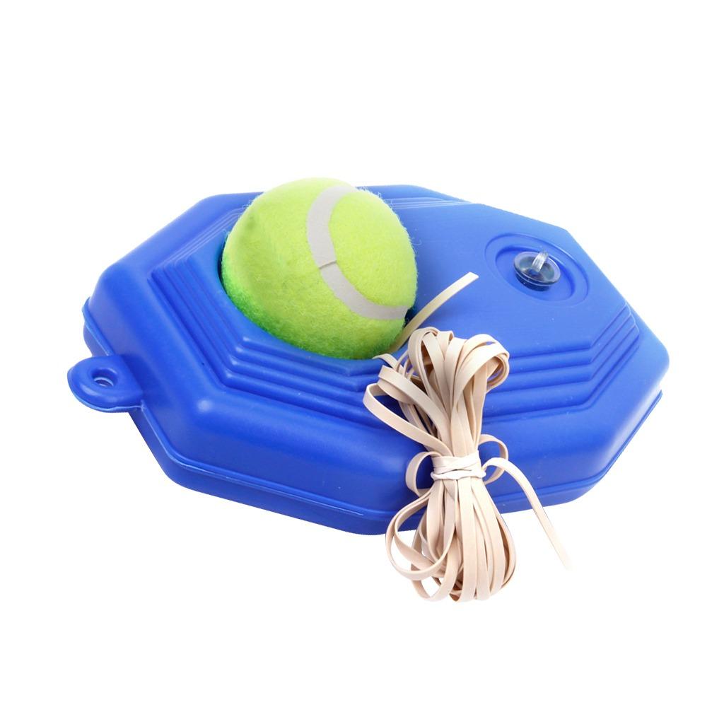 Tenis Bola Entrenador Set Con Largo Elstico Caucho Banda 34925 Tennis