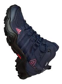 Tenis Bota adidas Ax2 Mujer Azul Zapatillas Importadas