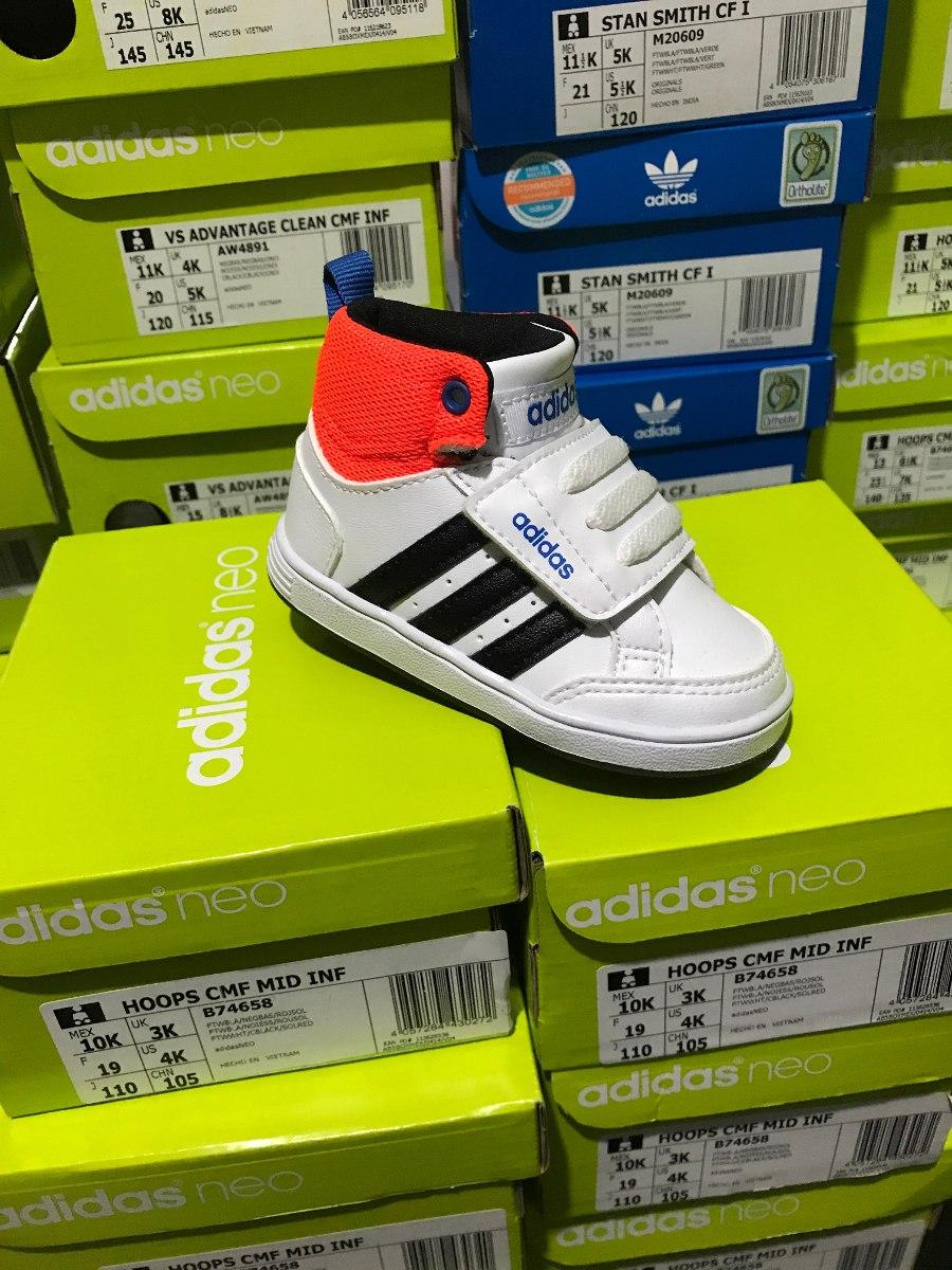 338da7fb4 Tenis Bota adidas Neo Hoops Para Bebe B74658 -   700.00 en Mercado Libre