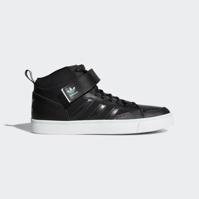 56e40867f7b75 tenis bota adidas originals varial 2 mid negros. Cargando zoom.