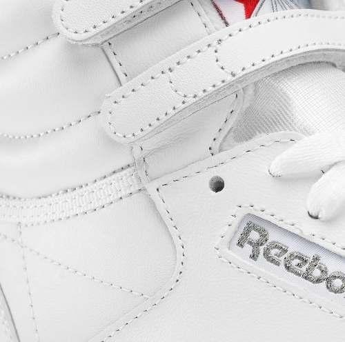 tenis bota reebok- free style hi- blancos - mujer - 2431