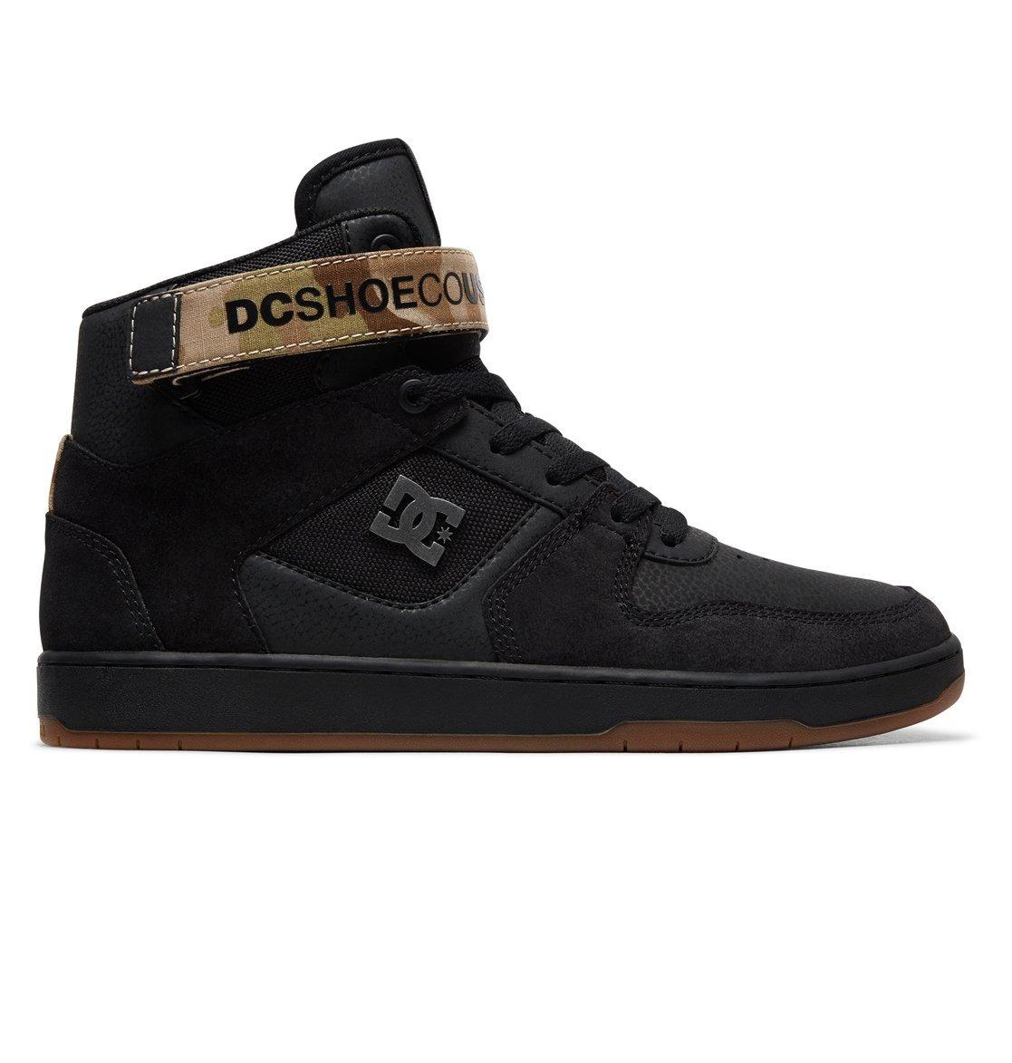 02ffea7f0b9d4 Tenis Botín Hombre Pensford Adys400038 Negro Dc Shoes -   1