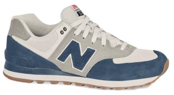 new balance blanca y azul