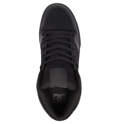 tenis caballero spartan high wc m shoe xkkk negro dc shoes