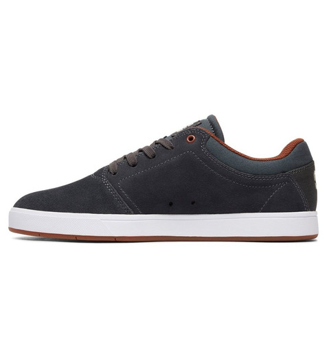 tenis calzado caballero crisis m shoe grw gris dc shoes