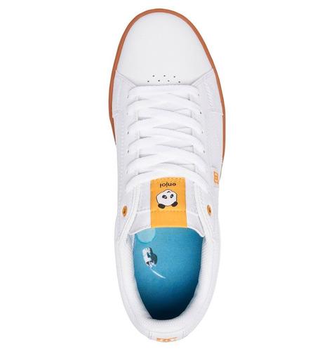 tenis calzado hombre astorsx enjoim shoe wg5 dc shoes blanco