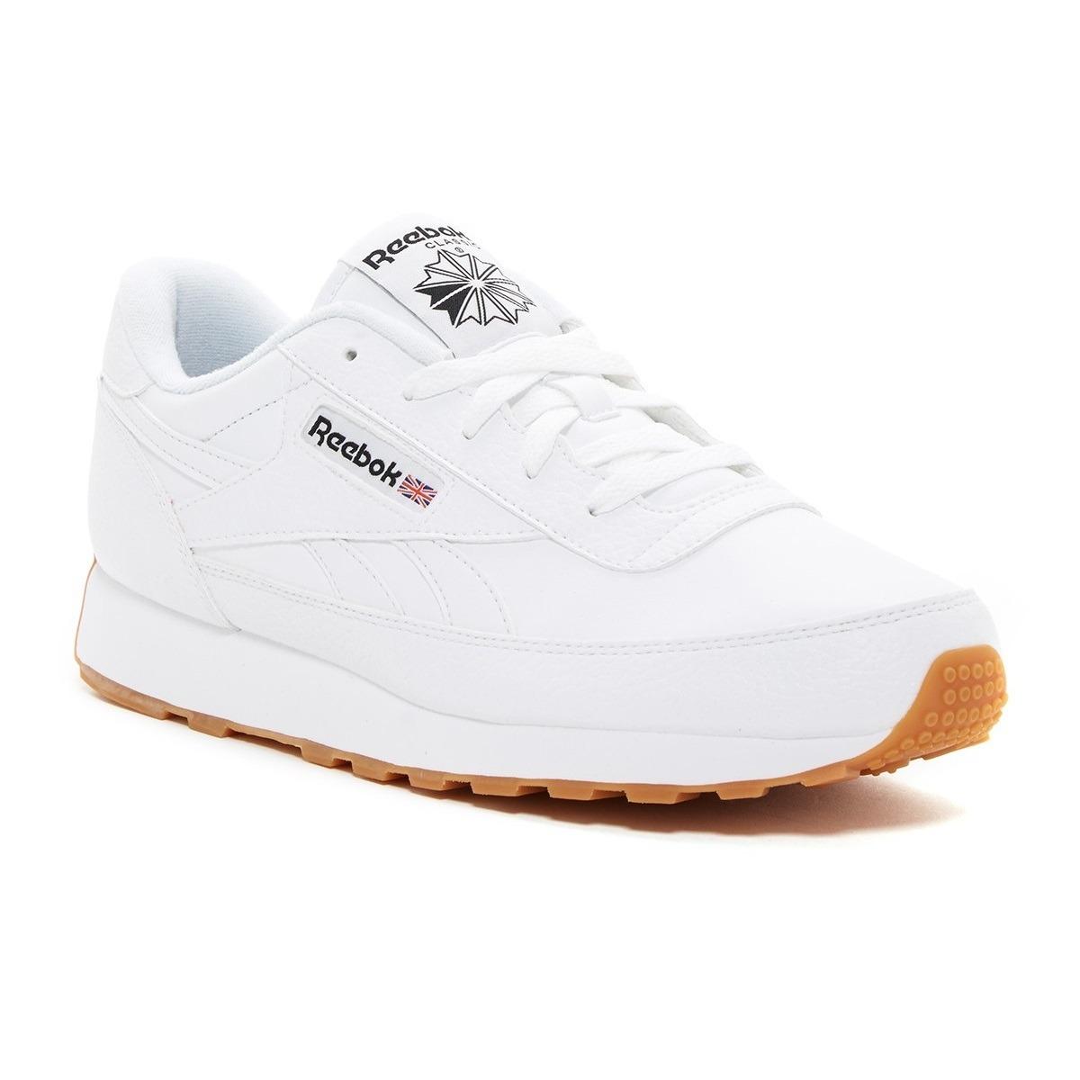 ae49f3ed504220 tenis calzado hombre reebok classic renaissance gum blancos. Cargando zoom.