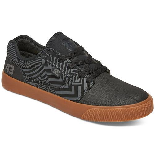 tenis calzado hombre tonik kb fall 2016 gris dc shoes