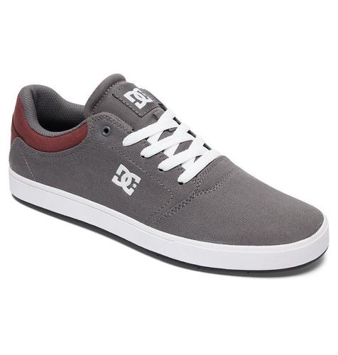 tenis calzado hombre zapato casual crisis gra gris dc shoes
