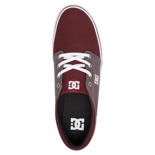 tenis calzado trase tx m shoe aob hombre guinda dc shoes