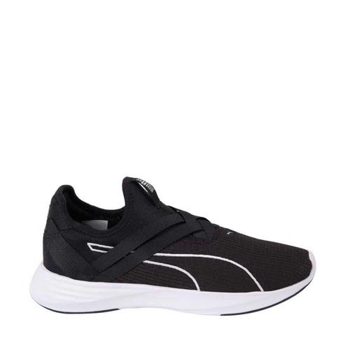 tenis caminar puma radiate xt slip-on negro mujer 826372