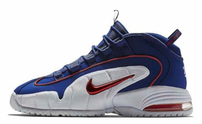 0cd1db1d9f7 Tenis Cano Alto Nike Air Max Penny Original 685153400