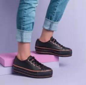 0b5d369de0d Tenis Capricho Cp0599 Sugar Shoes - Solado Plataforma 2019