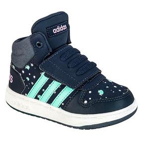 Sneaker Hoops Tenis 83718 Niña Adidas Bota Azul Dtt 1lFKJTc3