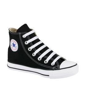 Converse Piel Bota Negro Ropa, Bolsas y Calzado para Niños