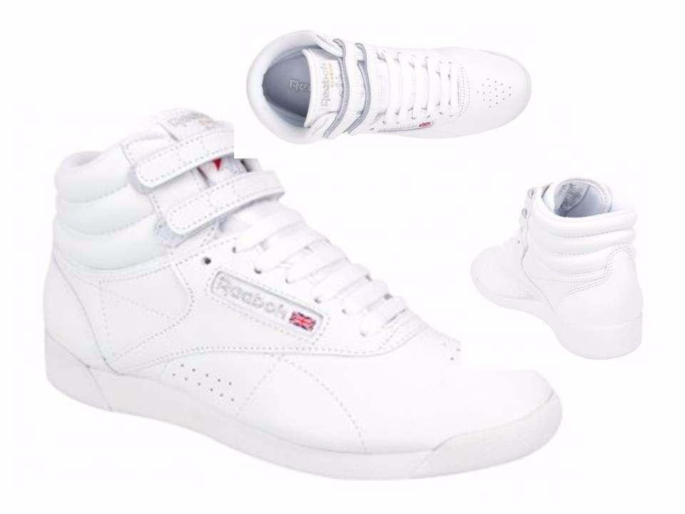 Zapatillas Reebok Freestyle HI Blanco 38 Blanco