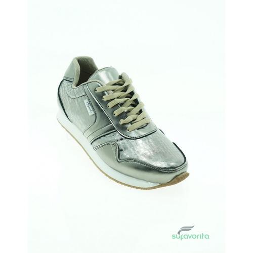 tenis casual dama sintetico estudro marca calzado napoles