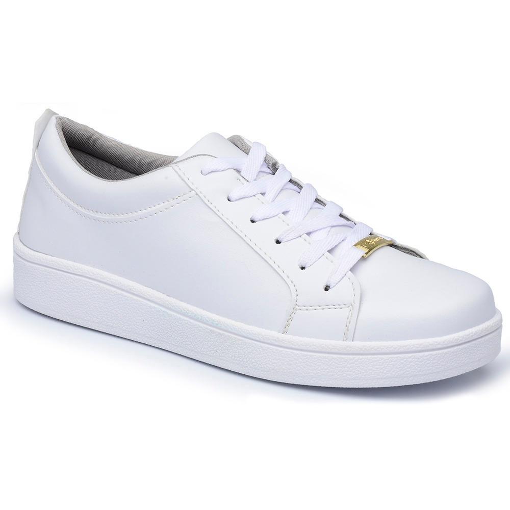 4e58608960 tenis casual feminino cr shoes sapatenis branco social b. Carregando zoom.
