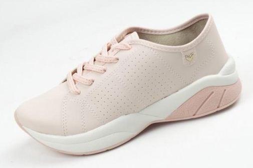 2eac27da0 Tenis Casual Feminino Mississipi Lançamento Rose Verão X9431 - R$ 79 ...