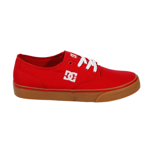 tenis casual hombre flash adys300417-rbl rojo dc shoes
