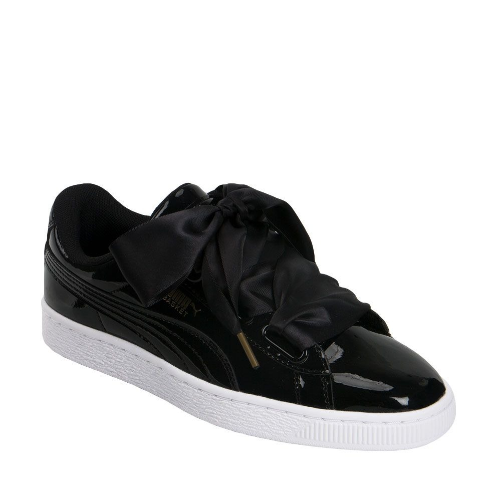 newest collection 79145 0561b Tenis Casual Puma Basket Ribbon Listón Negro Mujer 822057