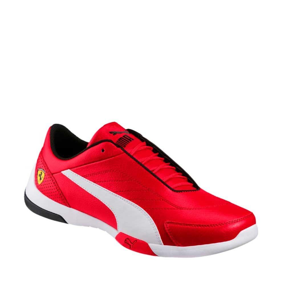 Tenis Casual Puma Sf Kart Cat Iii Rojo Hombre 182482 Caja