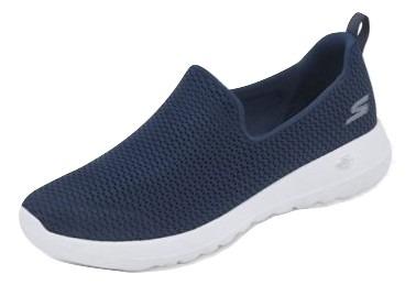 b40c079d80c Tenis Casual Textil Dama Skechers Azul Marino 13238 Udt -   1