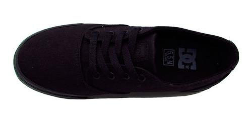 tenis casual unisex flash adys300417-3bk dc shoes
