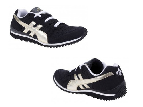 tenis casual urban shoes 518 color negro