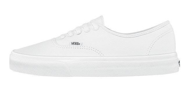 Tenis Casual Vans Authentic Blanco 89807