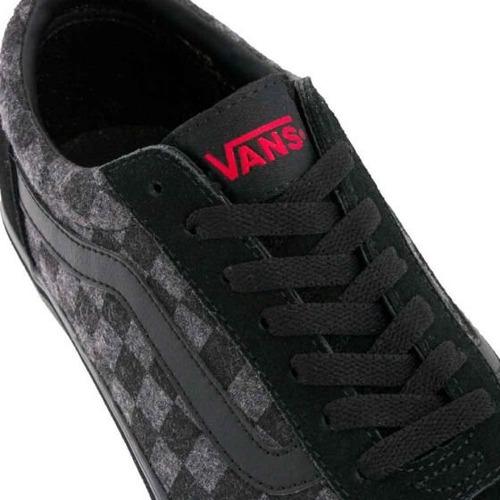 d36cbab9e6821 Tenis Casual Vans Mn Ward Color Negro P Caballero Kw375 A ...