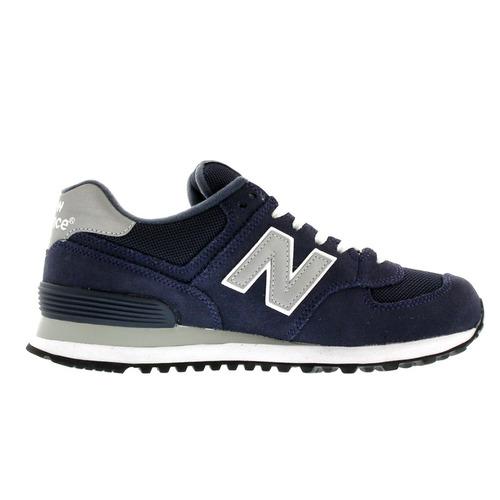 tenis casual zapatilla hombre 574 azul marino new balance