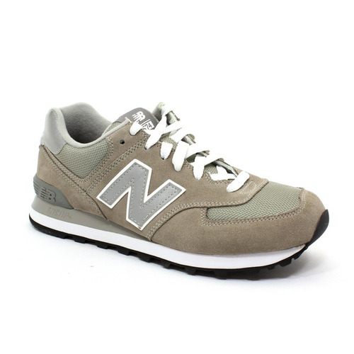 tenis casual zapatilla hombre 574 gris new balance