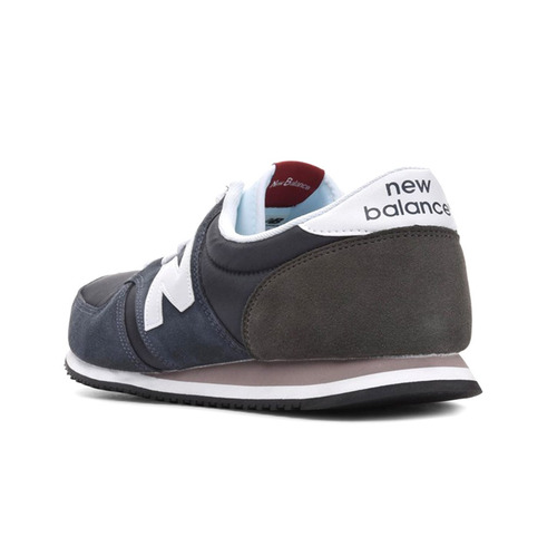 tenis casual zapatilla unisex 420 azul marino new balance