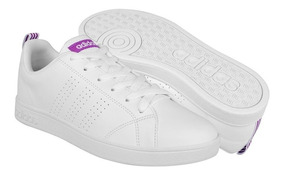 Tenis Casuales adidas Para Mujer Simipiel Purple Bb9616