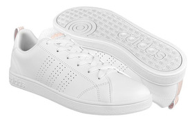 Tenis Casuales Para Dama adidas Db0581 Simipiel White
