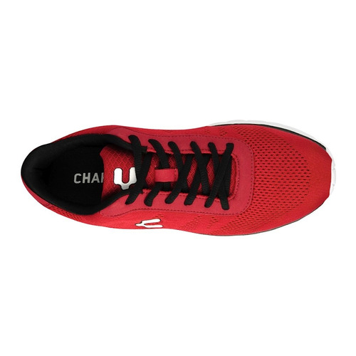 tenis charly 1021944 25-28 textil rojo