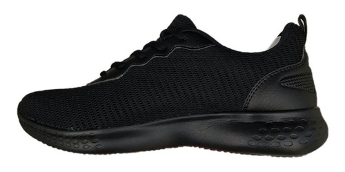 tenis charly hombre 1029682 negro textil deportivo running
