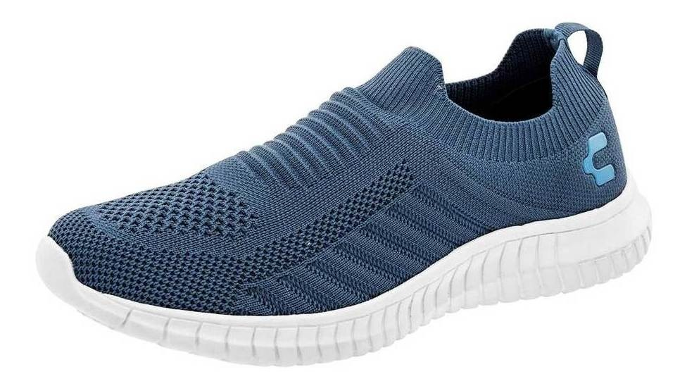 Tenis Charly Mujer 1049432 Color Azul Talla 22-27 -zapatos