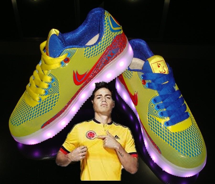 527377a9 Tenis Colombia Zapatos Recargables Con Luces Led - $ 45.000 en ...